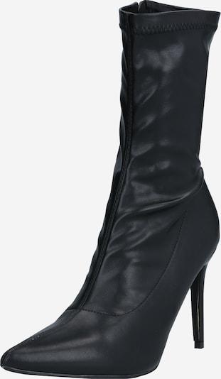4th & Reckless Enkellaarsjes 'LUTHER' in de kleur Zwart, Productweergave