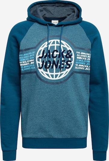 Felpa 'RUBEN' JACK & JONES di colore marino / blu colomba / blu chiaro / bianco, Visualizzazione prodotti