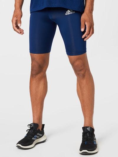 ADIDAS PERFORMANCE Športové nohavice - modrá / striebornosivá, Model/-ka