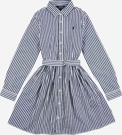 POLO RALPH LAUREN Kleid 'Bengal' in navy / weiß, Produktansicht