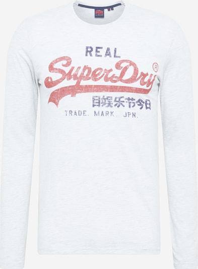 Superdry Shirt in rot / weiß, Produktansicht