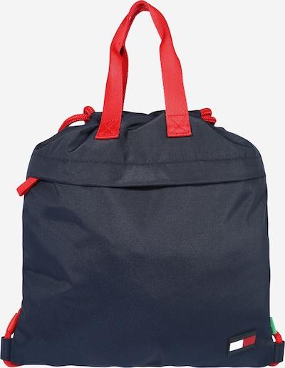 TOMMY HILFIGER Tasche in navy / rot, Produktansicht
