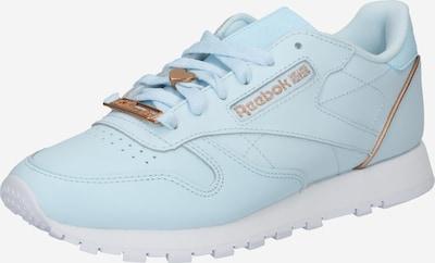 Reebok Classics Sneaker in hellblau / gold, Produktansicht