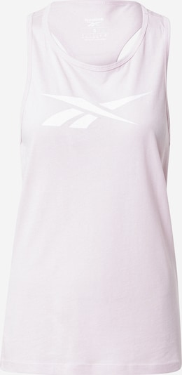 Reebok Sport Športový top 'Vector' - ružová / biela, Produkt
