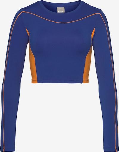 BENCH Performance Shirt in Royal blue / Orange, Item view