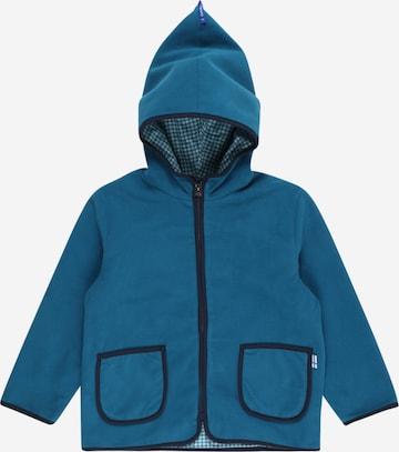 FINKID Fleece jacket 'TONTTU' in Blue