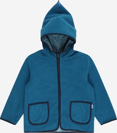 FINKID Fleece jas 'TONTTU' in de kleur Marine, Productweergave