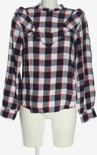 re.draft Langarm-Bluse in L in rot / schwarz / weiß, Produktansicht