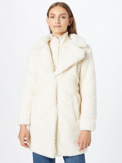 Urban Classics Manteau mi-saison 'Sherpa' en crème, Vue avec modèle