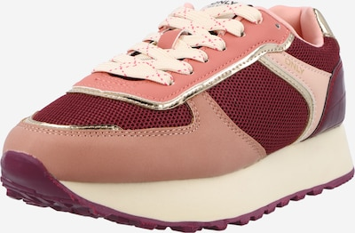 ONLY Platform trainers 'SONIA' in Gold / Dusky pink / Light pink / Burgundy / Ruby red, Item view