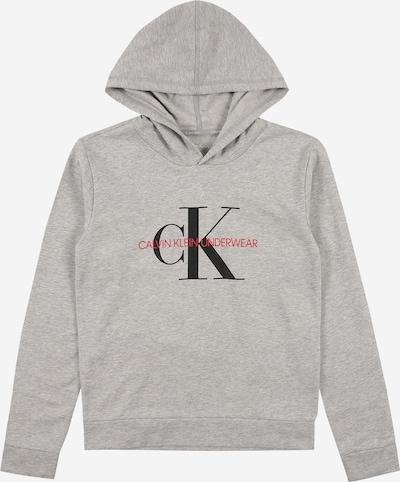Calvin Klein Underwear Sweatshirt in de kleur Grijs gemêleerd / Rood / Zwart, Productweergave