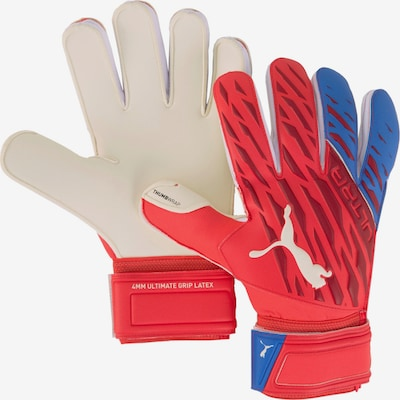 PUMA Athletic Gloves in Red, Item view