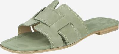Kennel & Schmenger Mule 'Jordan' en vert clair, Vue avec produit