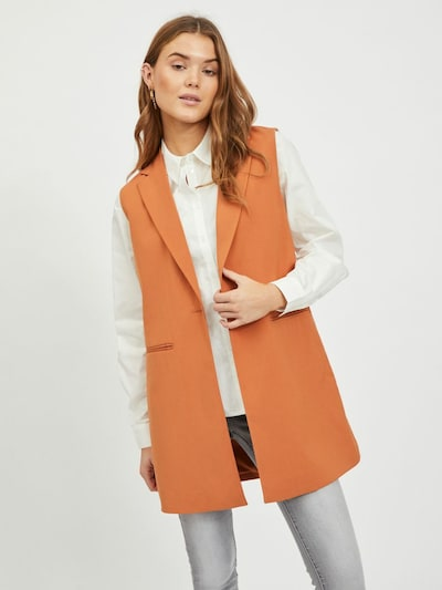 VILA Weste 'VIJANINE' in apricot, Modelansicht