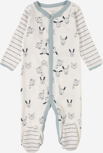 Carter's Dungarees in marine blue / Opal / White, Item view