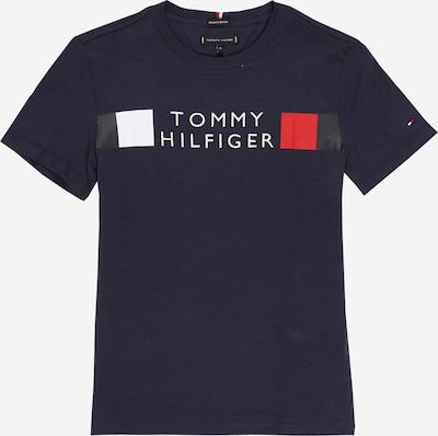 TOMMY HILFIGER Shirt in nachtblau / rot / schwarz / weiß, Produktansicht