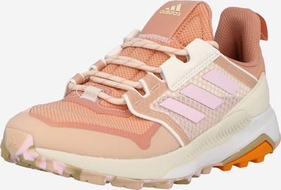 ADIDAS PERFORMANCE Chaussure basse en beige / saumon / orange foncé / rose clair, Vue avec produit