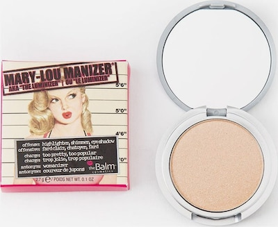 The Balm Highlighter 'Mary-Lou Manizer' in Beige, Item view