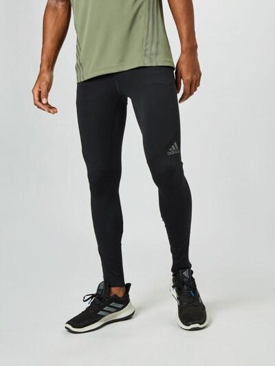 ADIDAS PERFORMANCE Športové nohavice 'Saturday' - sivá / kaki / čierna, Model/-ka