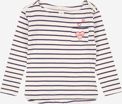 OshKosh Shirt 'VDAY' in de kleur Crème / Navy, Productweergave