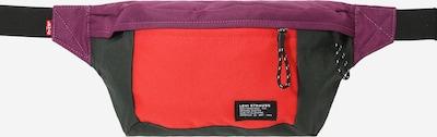LEVI'S Чанта за кръста в зелено / тъмнолилаво / светлочервено, Преглед на продукта