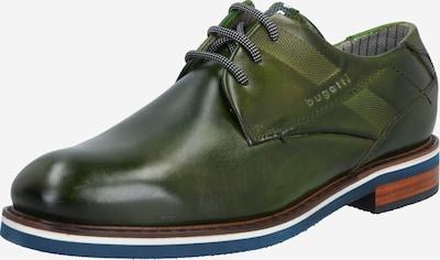 Pantofi cu șireturi 'Firmin Exko' bugatti pe verde închis, Vizualizare produs
