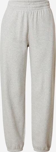 WEEKDAY Pantalon 'Corinna' en gris clair, Vue avec produit