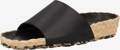 MAHONY Pantoletten in schwarz, Produktansicht