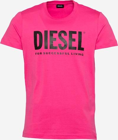 DIESEL T-Shirt 'DIEGO' en rose / noir, Vue avec produit