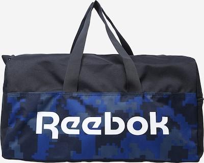 Reebok Sport Sportstaske i navy / røgblå / royalblå / hvid, Produktvisning