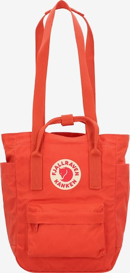 Fjällräven Rucksack 'Kanken' in beige / rot / orangerot, Produktansicht