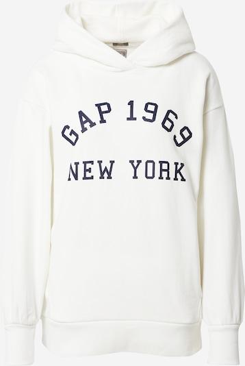 GAP Sweatshirt in de kleur Navy / Wit, Productweergave
