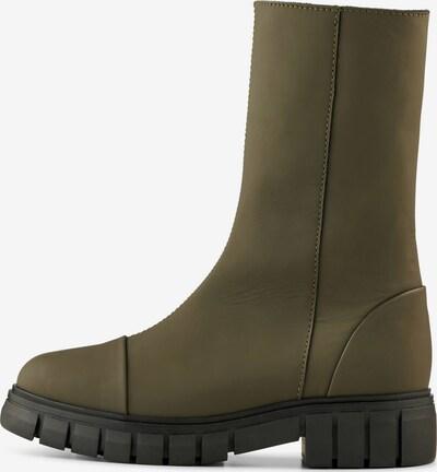 Shoe The Bear Stiefelette 'REBEL' in oliv, Produktansicht