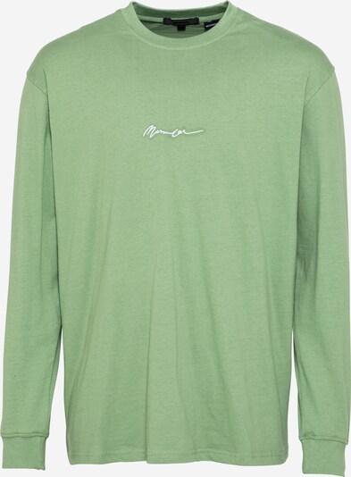 Mennace Tričko 'ESSENTIAL' - mátová / bílá, Produkt