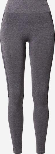 Hummel Sporthose in anthrazit / schwarz, Produktansicht