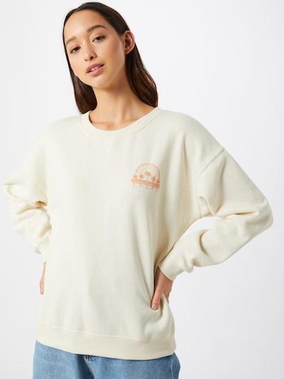 BILLABONG Sweatshirt 'souvenir' in hellblau / rot / weiß: Frontalansicht