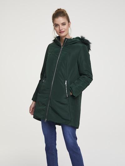 heine Winterjacke in dunkelgrün, Produktansicht
