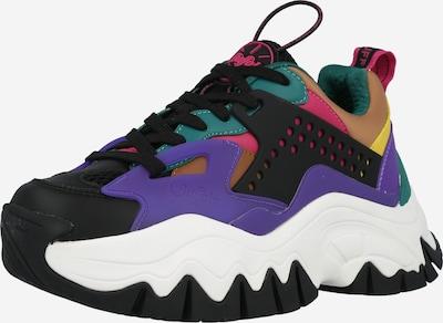 Sneaker low 'TRAIL ONE' BUFFALO pe galben închis / verde jad / mov închis / roz pitaya / negru, Vizualizare produs