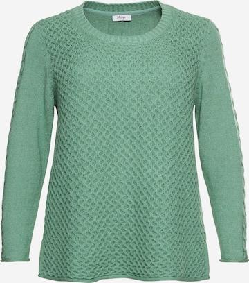 SHEEGO Kampsun, värv roheline