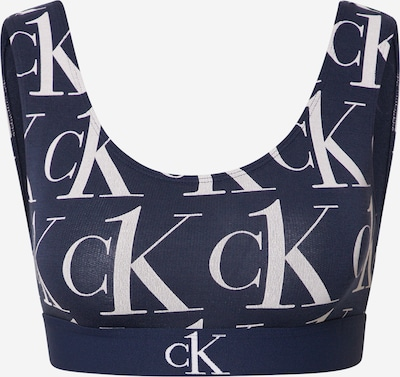 Calvin Klein Underwear BH in dunkelblau / weiß, Produktansicht