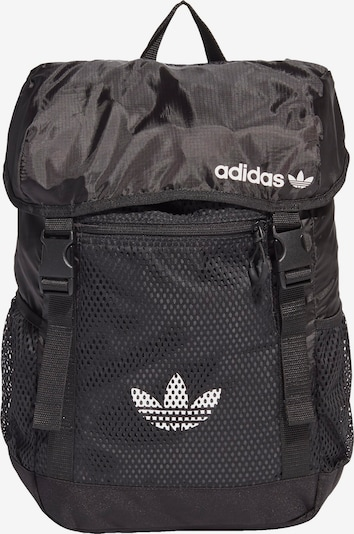 ADIDAS ORIGINALS Backpack in Black / White, Item view