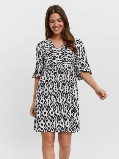 VERO MODA Kleid 'Dichte' in schwarz / weiß, Modelansicht