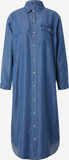 DENHAM Košeľové šaty - modrá: Pohľad spredu