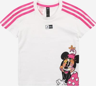 ADIDAS PERFORMANCE Sport-Shirt in orange / pink / schwarz / offwhite, Produktansicht