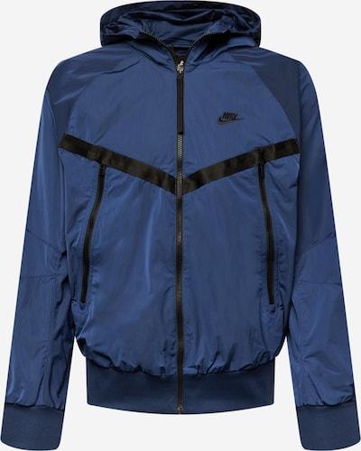 Nike Sportswear Tussenjas in de kleur Donkerblauw / Zwart, Productweergave