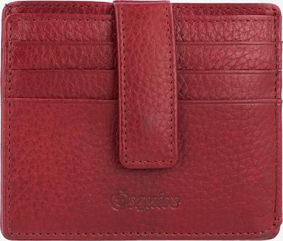 Esquire Oslo Kreditkartenetui RFID Leder 10 cm in rot, Produktansicht