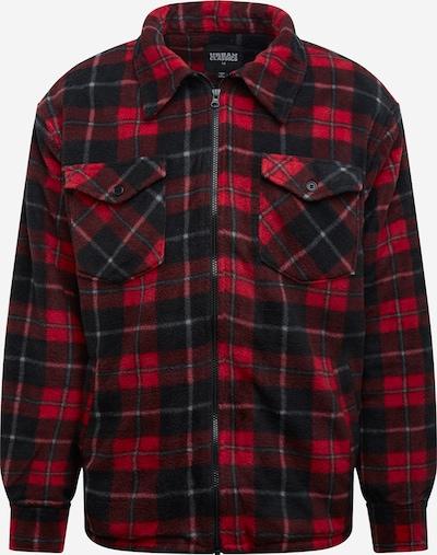 Urban Classics Prechodná bunda - červená / čierna / biela, Produkt