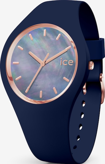 ICE WATCH Uhr in marine / rosegold, Produktansicht