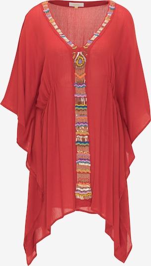 usha FESTIVAL Tunika | mešane barve / rdeča barva, Prikaz izdelka
