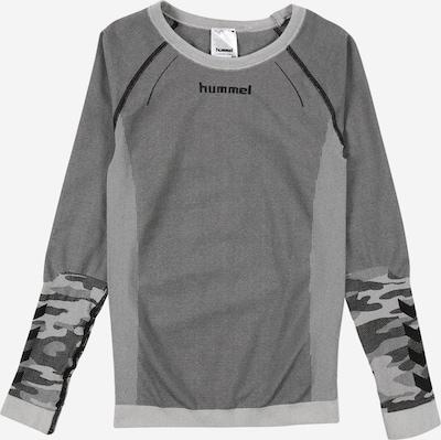 Hummel Športna majica 'MAX' | siva / črna / bela barva, Prikaz izdelka